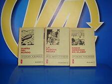 Libro Tres libros clasico juveniles Bruguera edicion 1957