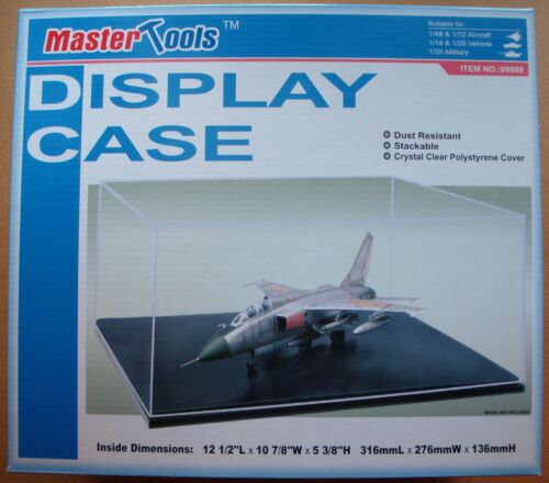 Acryl Vitrine 316 x 276 x 136mm TRUMPETER® 09808 Display Case