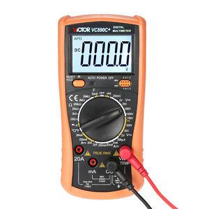 Polimetro-Multimetro-True-RMS-VALOR-EFICAZ-AC-DC-Temperatura-Capacimetro-hFE