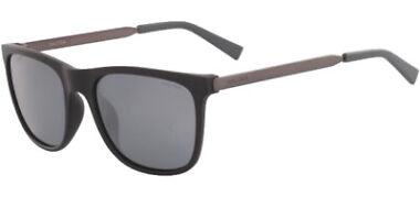 Nautica Men's Polarized Matte Black Square Sport Sunglasses