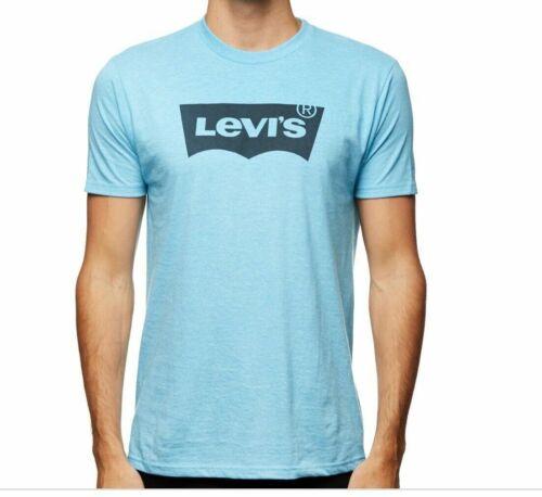 Men/'s LEVI/'S Chauve-souris poitrine encolure ras-du-Cou Imprimé Manches Courtes T-Shirt