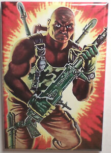 Watchtower FRIDGE MAGNET gi joe real american hero gung ho roadblock