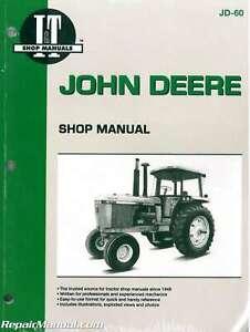 John Deere 4055 4255 4455 4555 4755 4955 Tractor Manual : JD-60 | eBayeBay