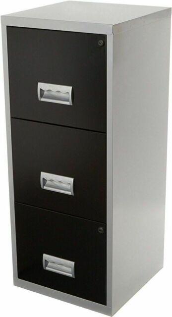 A4 New Dark Grey Free 24h Del 2 Drawer Staples Steel Maxi Filing