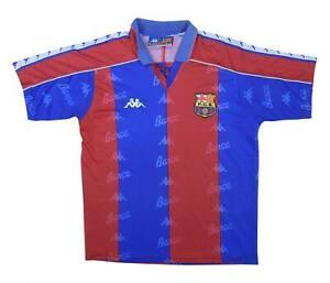 Barcelona 1992-95 ORIGINALE Maglietta (Fair) M Ragazzi Calcio Jersey