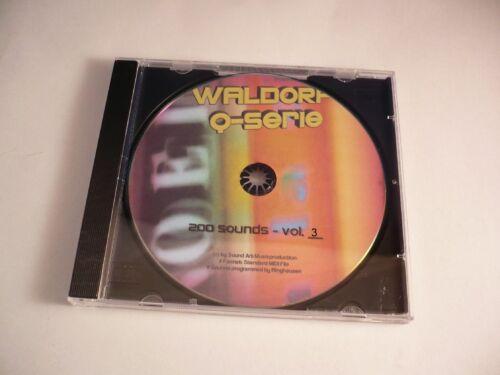 "Waldorf Q-Serie 3/"" ! 2 0 0 neue Studio Sounds /""H Q MEGA Revolution Vol"