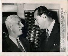 "1952 Hank Greenberg Myron H Wilson Cleveland Indians 8 x 10"" AP Press Wire Photo"
