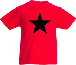UnermüDlich Black Star Kids Kinder-t-shirt Rot Verbraucher Zuerst