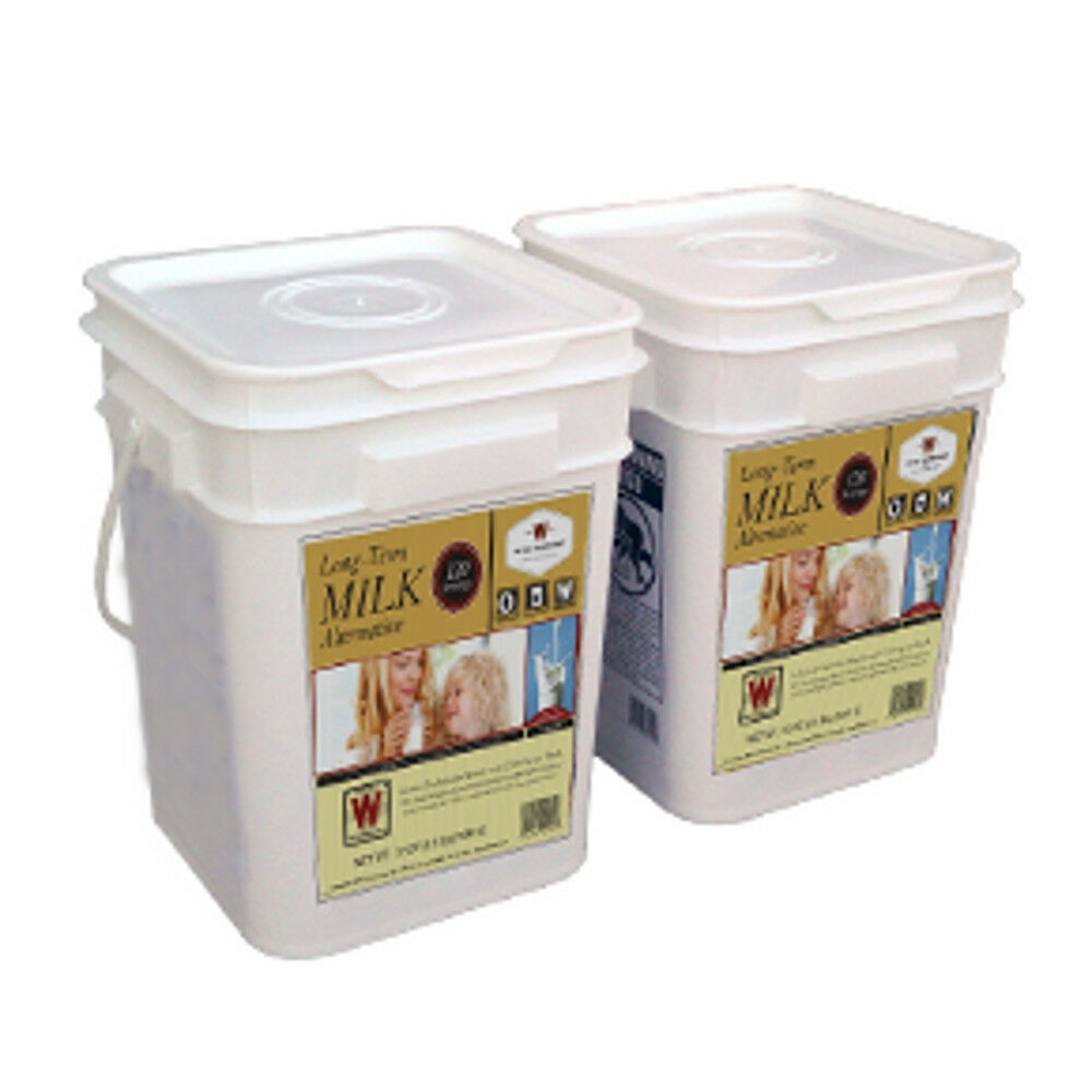 Wise Dehydrated Milk 240 Serving - Long Term Food Storage Shelf Life of 25 Years