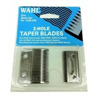 Wahl Professional 2-hole Taper Blade Kit. Replacement Blades For Wahl Clippers