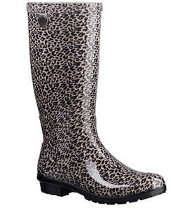 808bec31fa6 Image is loading Women-039-s-UGG-Shaye-Leopard-Rain-Boot-