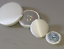 Medium /& Large 16mm 20mm 25mm 31mm Cream Satin Fabric Buttons Small