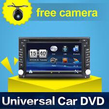 AUTORADIO MIT NAVI GPS NAVIGATION TOUCHSCREEN BILDSCHIRM DVD CD USB SD MP3 2 DIN