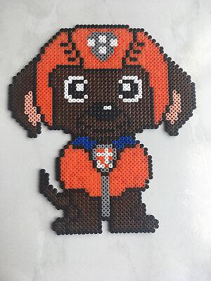 Pixel Art Perles A Repasser Zuma De La Pat Patrouille Ebay