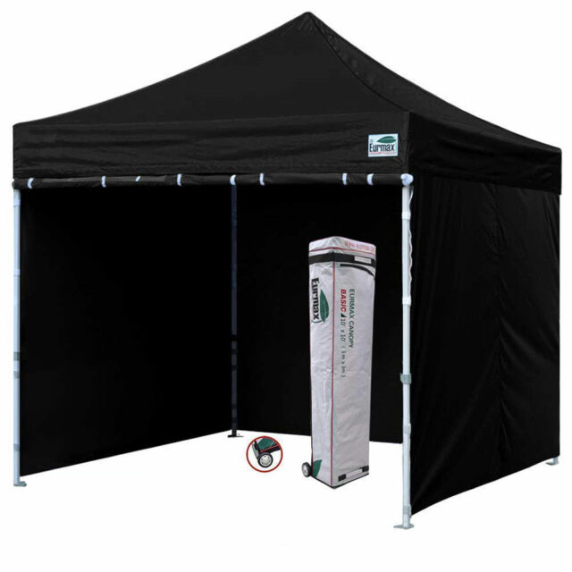 differently 22b56 16b0f Waterproof 10x10 Ez Pop Up Canopy Outdoor Vendor Tent W/ Enclosure Side  walls