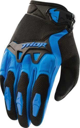 THOR SPECTRUM YOUTH GLOVES BLUE KIDS JUNIOR MOTOCROSS MX BMX CHEAP OFF ROAD BOYS