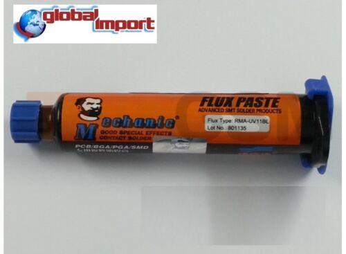 FLUSSANTE FLUX Lead Free Originale MECHANIC RMA-UV11BL SMD BGA PGA  Saldarura