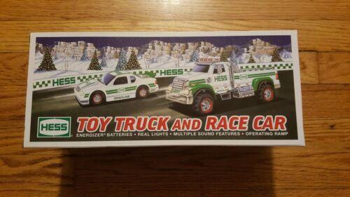 Hess Toy Truck and Race Car NIB 2011