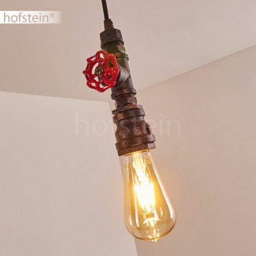 Schwarz//Rost Wohn Schlaf Ess Raum Beleuchtung Retro Pendel Hänge Leuchten Lampen