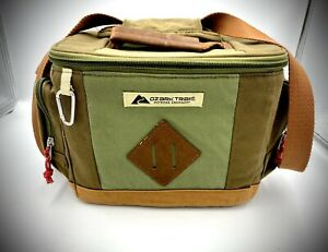 Ozark Trail Insulated Soft Shell Lunchbox Cooler Green