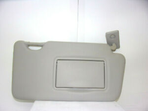 2013-2014-2015-NISSAN-VERSA-OEM-RIGHT-SIDE-GRAY-SUN-VISOR-WITH-SHADE-EXTENDER