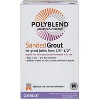 Polyblend 7lb Fawn Sandd Grout