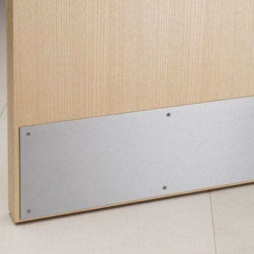 """Ives 25590 8400 26D 10/"""" x 31/"""" Metal Door Protector Kick Plate SATIN CHROME"""