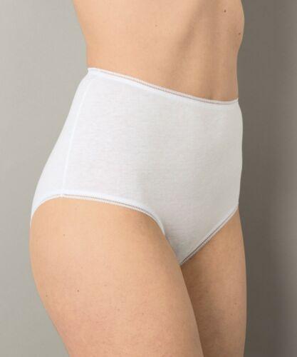 DAMART taille 18-20 UK Medium usa full Slips Maxi Slips Culottes 100/% coton