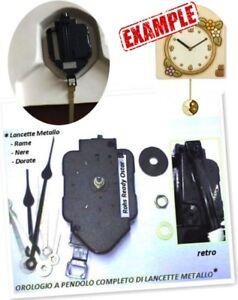 Pendolo motore movimento meccanismo orologio x creare o for Pendolo thun