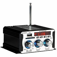 Kinter MA-600 2-Channel Mini Amplifier with Remote USB MP3