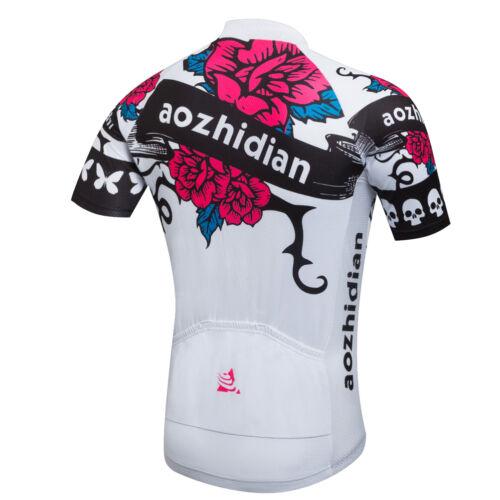 Rose Women/'s Bike Cycling Gear Kit Short Sleeve Cycling Jersey and Shorts Set