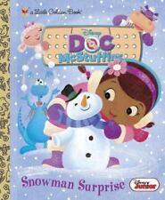 Snowman Surprise (Disney Junior: Doc McStuffins) (Little Golden Book) Posner-Sa