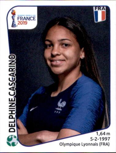 Panini Frauen WM 2019 Sticker 42 Frankreich Delphine Cascarino