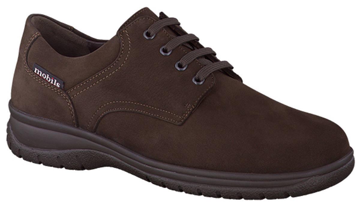Para mujers Informales con Cordones Zapato Mephisto Iago Dark Brown UK Size 5.5, 9.5
