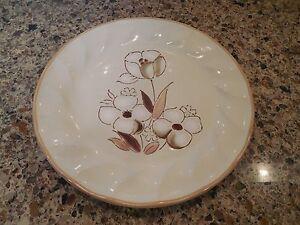 Vintage Felicity Sculptura Hearthside Stoneware Japan Beige Salad ...