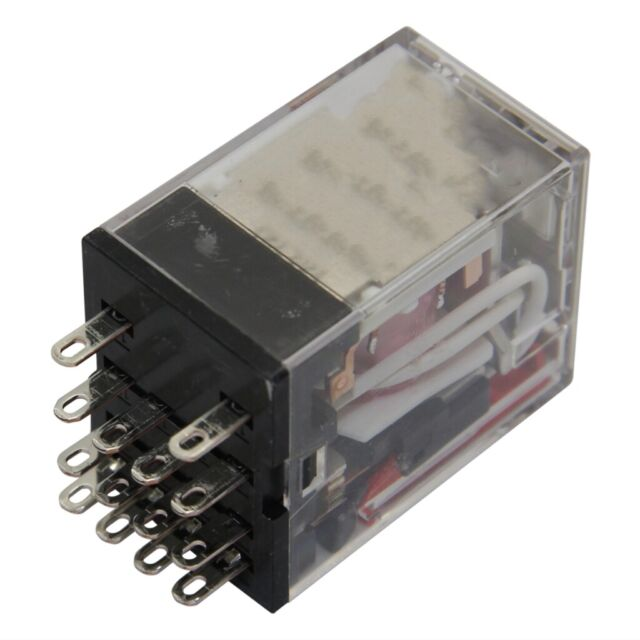 MY4-IN-220//240AC Relay electromagnetic 4PDT Ucoil230VAC 5A//220VAC OMRON