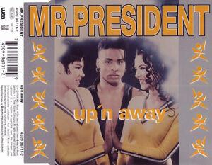 Mr-President-Maxi-CD-Up-039-n-Away-Germany-EX-F