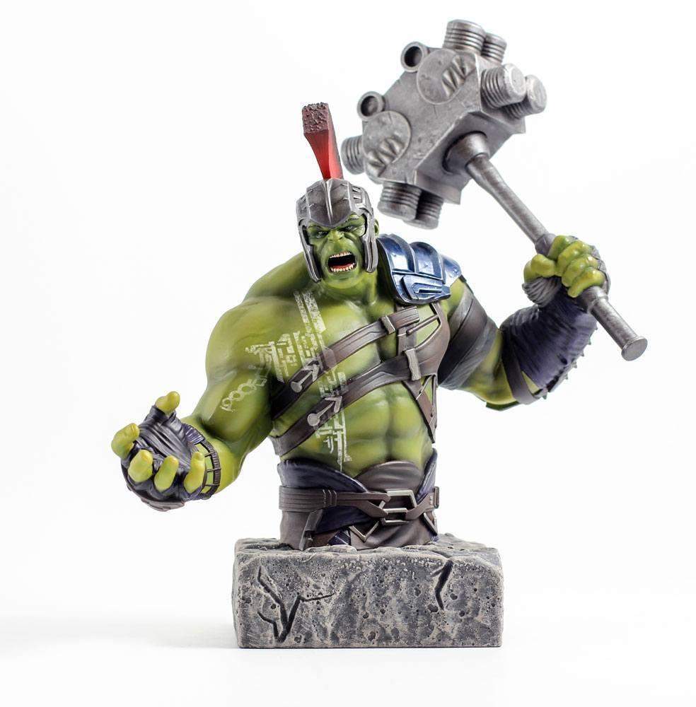 Thor Ragnarok Bust 1 6 Hulk 24 cm by Semic