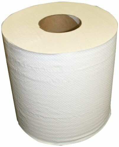 """6ct Soft /& Absorbent Center Pull 2 Ply Sanitary Paper Towel Rolls 9 x 7.5/"""""""