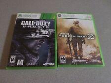 Call of Duty: Modern Warfare 2 & Call of Duty Ghosts - 2 Games -   Xbox 360