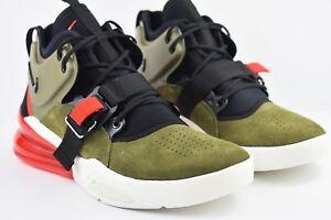 83ac9d48cf62 Nike Air Force 270 Mens Size 8.5 Medium Olive Green Shoes AH6772 200 ...