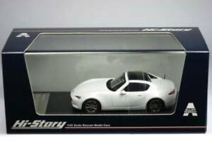 1/43 MAZDA ROADSTER RF 2016 Cristal Blanc Perle Mica Hs194Wh