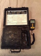 "CPS PRODUCTS CC220 DIGITAL REFRIGERANT CHARGING SCALE 220 LB 8 3/4"" PLATFORM"