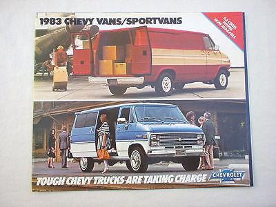 1983 Chevy Medium Trucks showroom sales brochure GM original publication MINT!