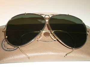 78a05092996c7d CIRCA 1960 s 5mm VINTAGE B L RAY-BAN USA ARISTA G15 SHOOTING AVIATOR ...