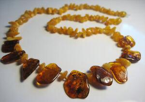 Genuine Honey Beautiful Baltic Amber Necklace !!!