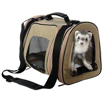 Marshall Ferret Doy Breed Dog Designer Pet Carrier Tote