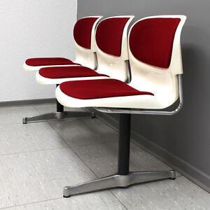 vintage 1-5 mid century modern bench stuhl bank sitzbank eames ... - Bank Und Stuhl Modern