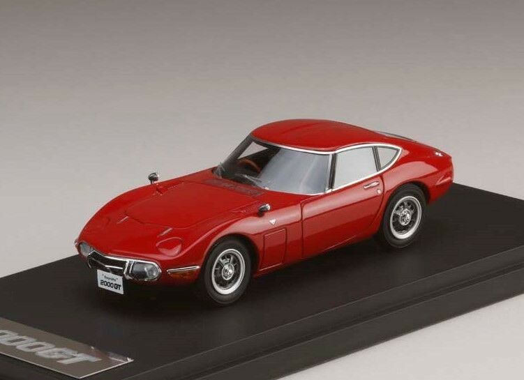 Mark  43 PM4363R 1 43 TOYOTA 2000 GT (MF10) Late Model Rouge  mode