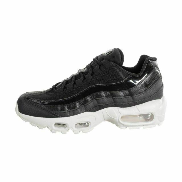 Women's Nike Air Max 95 SE Casual Sportswear Shoes AQ4138 001 Black Summit White